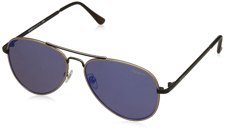 333c835301d Pepe Jeans Mirrored Aviator Unisex Sunglasses - (PJ5162C3