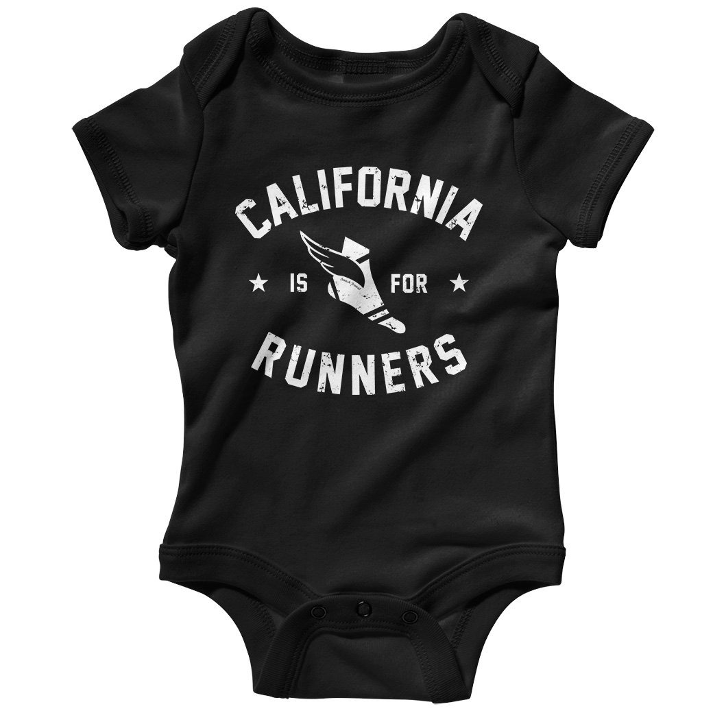 Smash Transit Baby California is for Runners Creeper