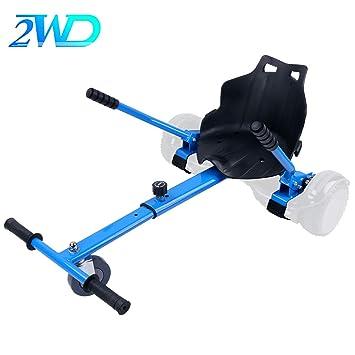 2WD Hoverkart para Hoverboard, Go-Kart Conversión Kit Patinete Eléctrico, Longitud Ajustable, Compatible con Todos Los Hoverboards - Hoverboard No Incluido ...
