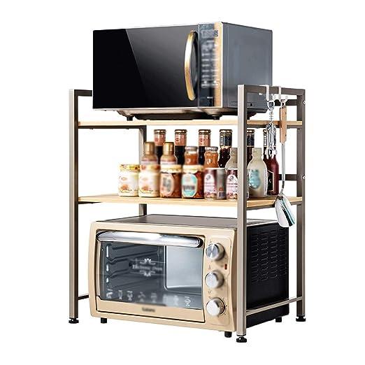 Kitchen organizer Estante del Horno Microondas Estante De ...