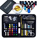 Arts & Crafts : Sewing Kit Over 120 Accessories Premium Travel Sewing Kit Sewing Supplies Set for Beginners, Professionals, Tailor, Home, Art School