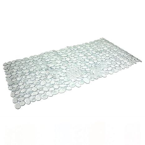 LARGE High Quality Bath Mat Shower Mat Strong Suction Anti Non Slip Pebble Stone
