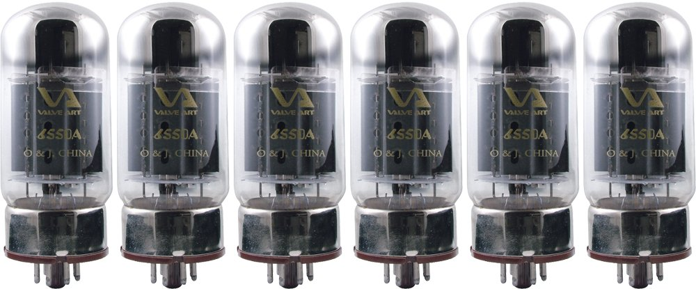 Valve Art 6550 Vacuum Tube, Apex Matched Sextet