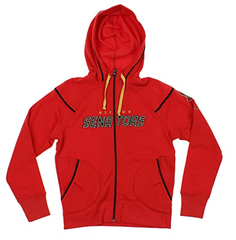 cb21c965b Amazon.com   Reebok NHL Womens Dazzle Trim Full Zip Hoodie - Team ...
