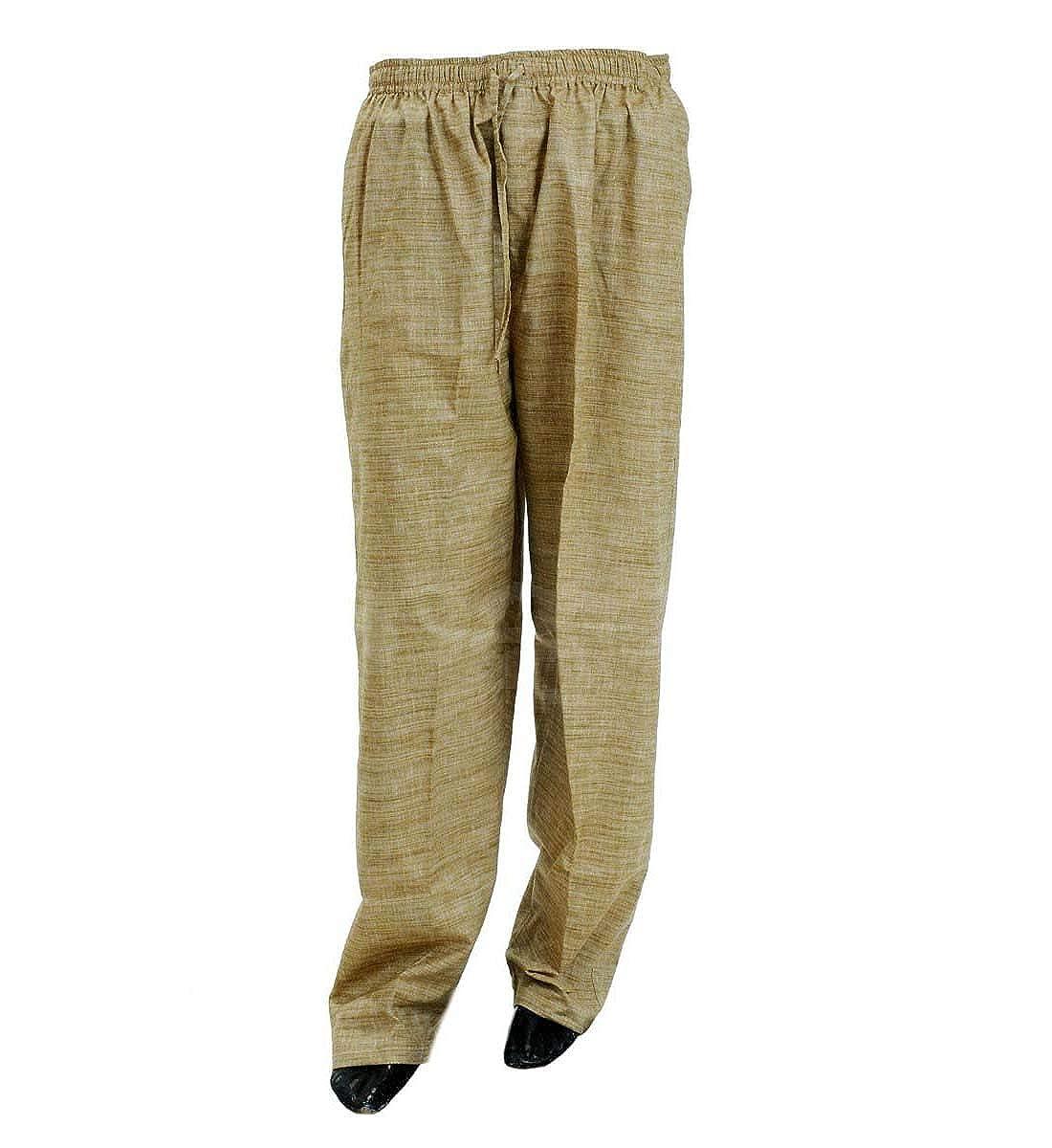 Indikart Export Trouser Handloom Cotton Brown