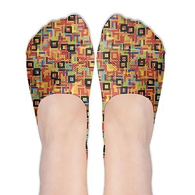 CKDKE2 Unisex Awesome No Show Socks Cotton Liner Sock For School