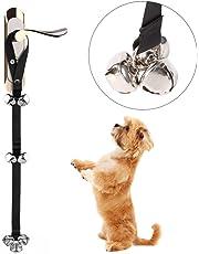 Dog Doorbells for Dog Training and Housebreaking Your Doggy Potty Bells Housetraining Premium Quality Adjustable Door Dog Bells
