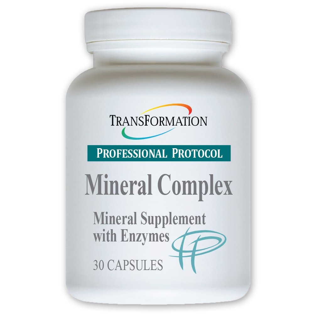 Mineral Complex 30 Capsules - #1 Practitioner Recommended - Supports Bone, Joint, Muscle, Glandular Health, and Energy Metabolism, Includes Vitamins C and B6, Flax Seed, Alpha-lipoic Acid, and Kelp