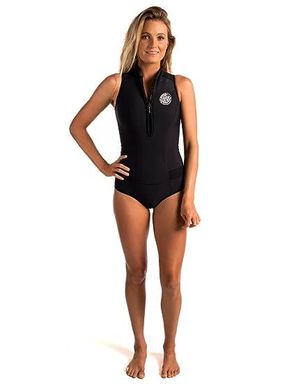 Amazon.com  Rip Curl G Bomb Sleeve Less Bikini Spring Suit  Sports ... 168d9485e