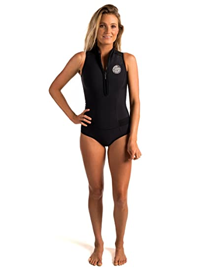 Amazon.com  Rip Curl G Bomb Sleeve Less Bikini Spring Suit  Sports ... 06976ced9