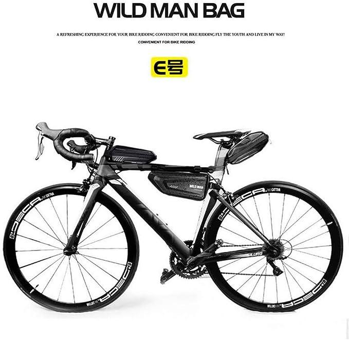 SMILEQ Bolsa de Bicicleta de montaña Wild Man Bolsa Impermeable ...