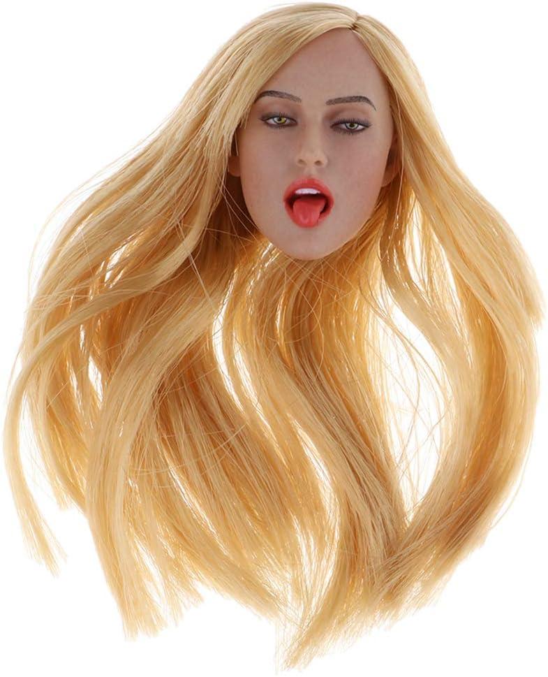1//6 Skala lange glatte Haare Perücke für 12 Zoll Hot Toys Kumik Phicen