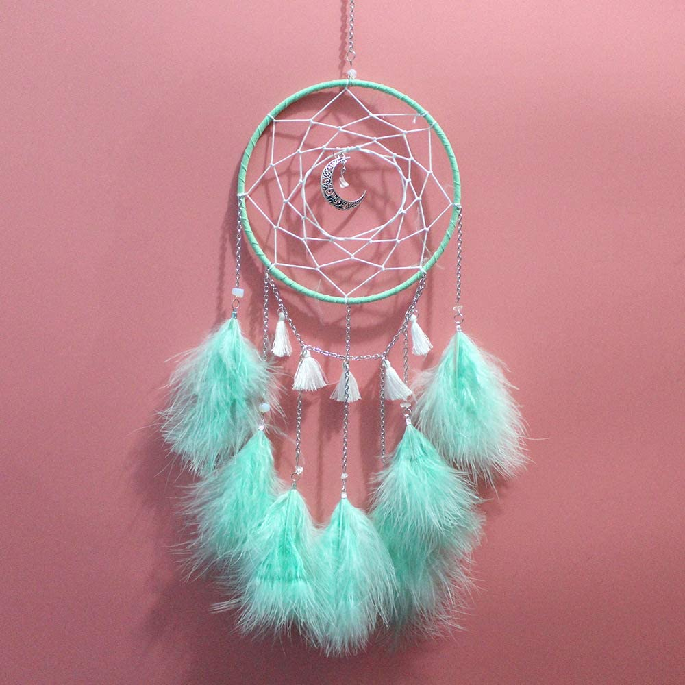 Dream Catcher - Moon Chain Terms Hanging Fashion Sencilla Wind ...