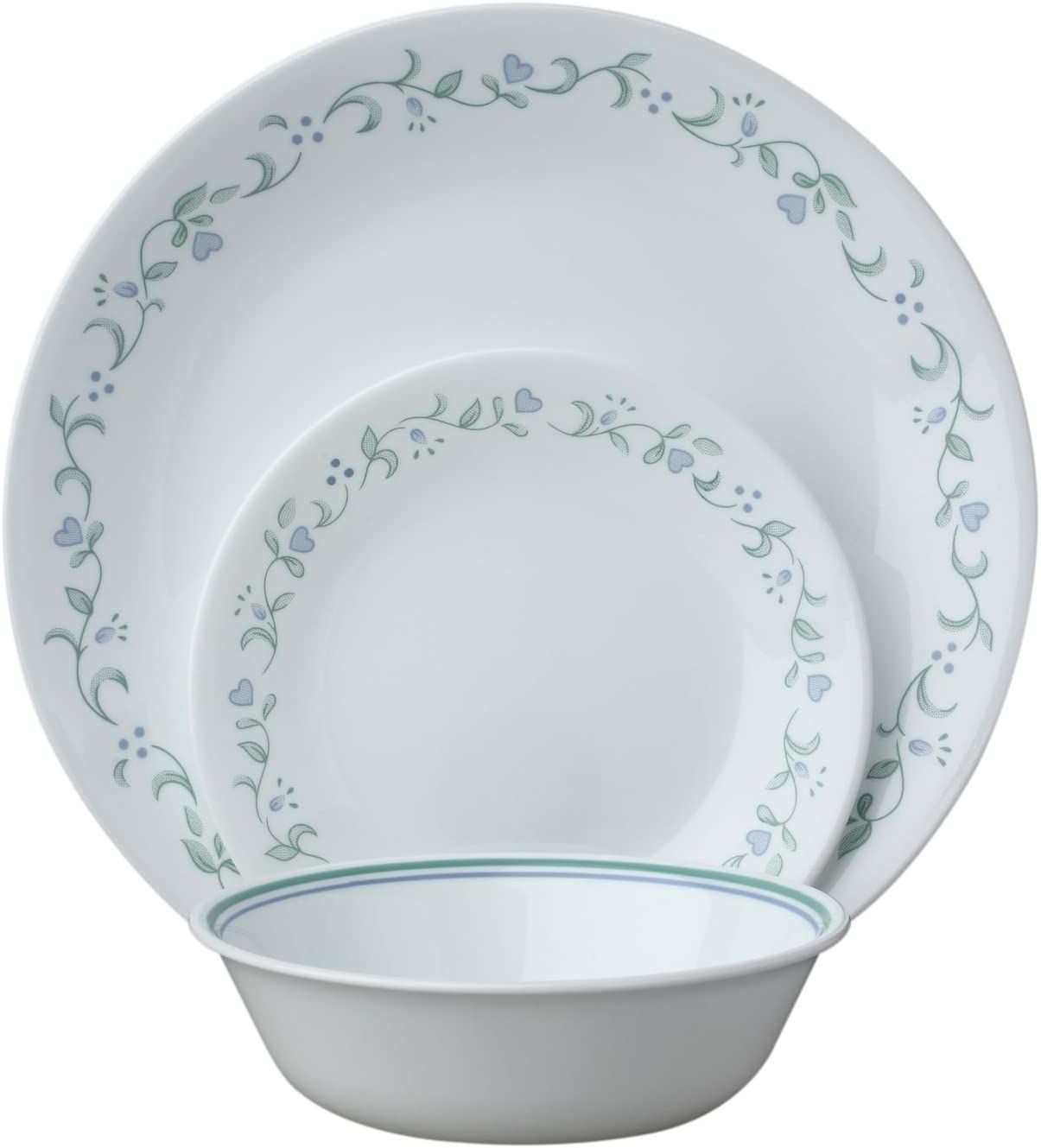 Corelle Country Cottage 12 Piece Service for 4, White, 12 - Piece Set