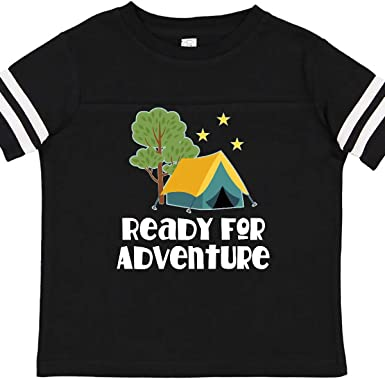 inktastic Camper This Chick Loves Camping Toddler T-Shirt