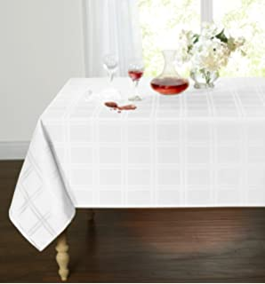 Charmant GoodGram Spill Proof/Stain Resistant Plaid Tartan Fabric Tablecloth By  Assorted Colors U0026 Sizes (
