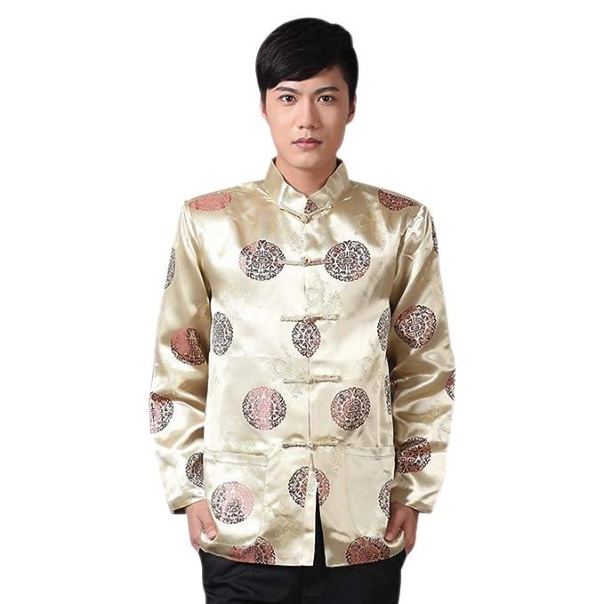 XFentech Hombres Mujeres Camisetas Chinos Tang - Banquete de ...