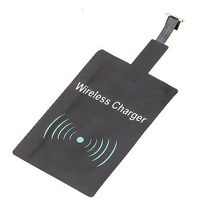 VANKER Cargador Inalámbrico Rápido,Receptor para Micro-USB Móvil Android SamSung Huawei HTC ect