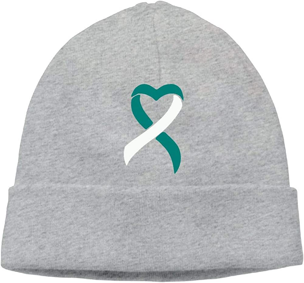 BBlooobow Men Women Fight Cancer Soft Knit Hats
