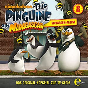 Hornissen Alarm (Die Pinguine aus Madagascar 8) Hörspiel