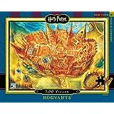 New York Puzzle Company - Harry Potter Hogwarts - 500 Piece Jigsaw Puzzle