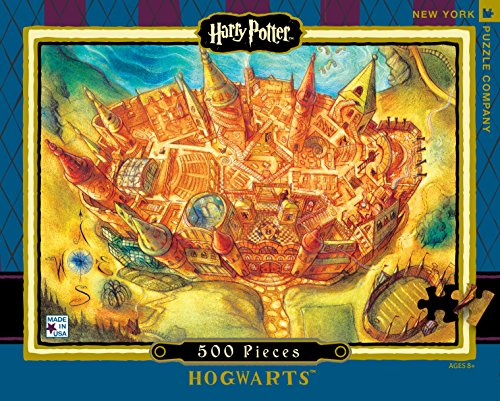 New York Puzzle Company - Harry Potter Hogwarts - 500 Piece Jigsaw Puzzle