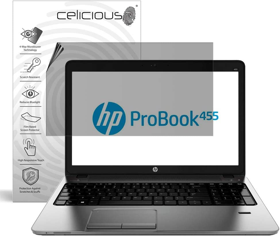 Celicious Privacy Plus 4-Way Anti-Spy Filter Screen Protector Film Compatible with HP ProBook 455 G1
