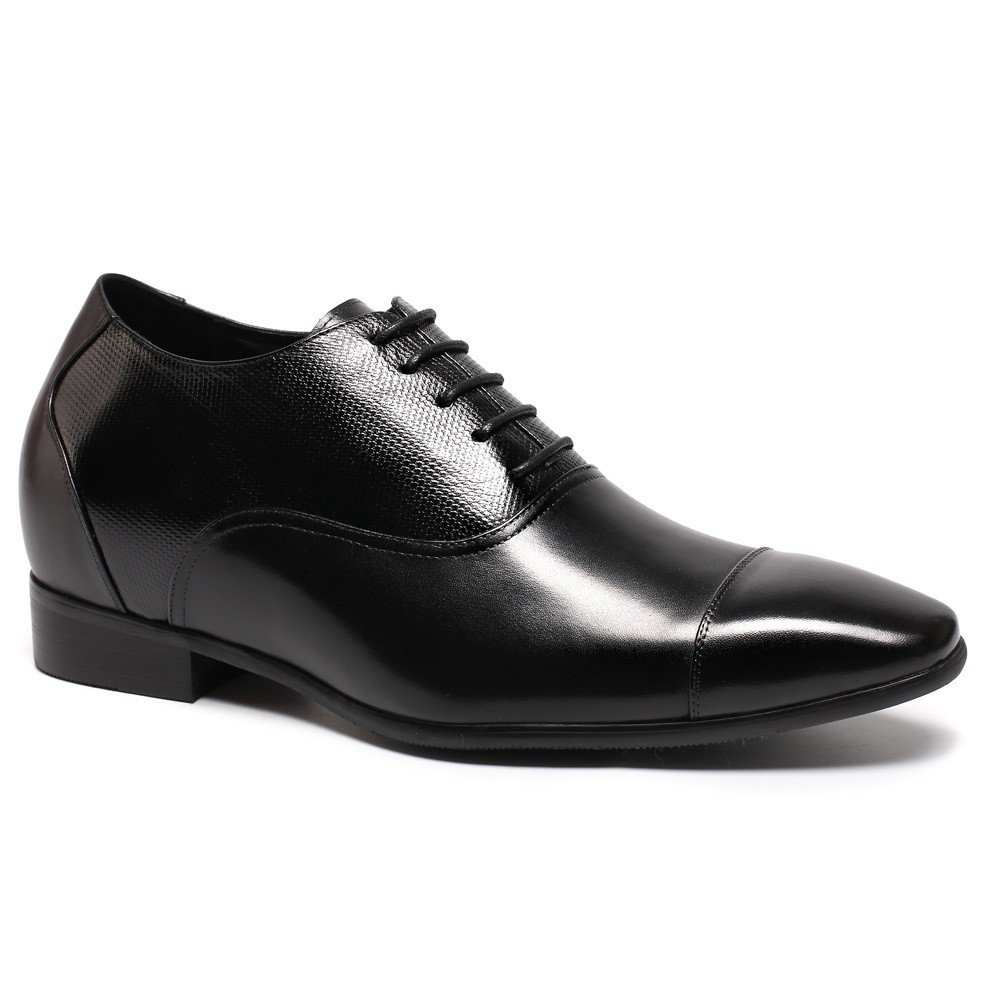 CHAMARIPA Height Increasing Elevator Shoes 2.96'' Taller Men Tuxedo Dress Oxford Shoes K4022 10 D(M) US by CHAMARIPA (Image #1)