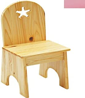 product image for Little Colorado Solid Back Star Kids Chair in Soft Pink