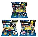 Midway Arcade Level Pack + The Simpsons Homer Level Pack + Mission Impossible Ethan Hunt Level Pack - Lego Dimensions (Non Machine Specific)