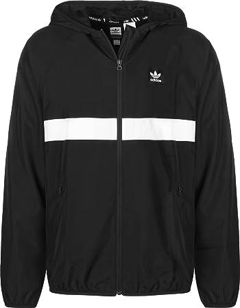6d16592e47db ADIDAS BB Wind Jacket Windbreaker Herren schwarz weiß  Adidas ...