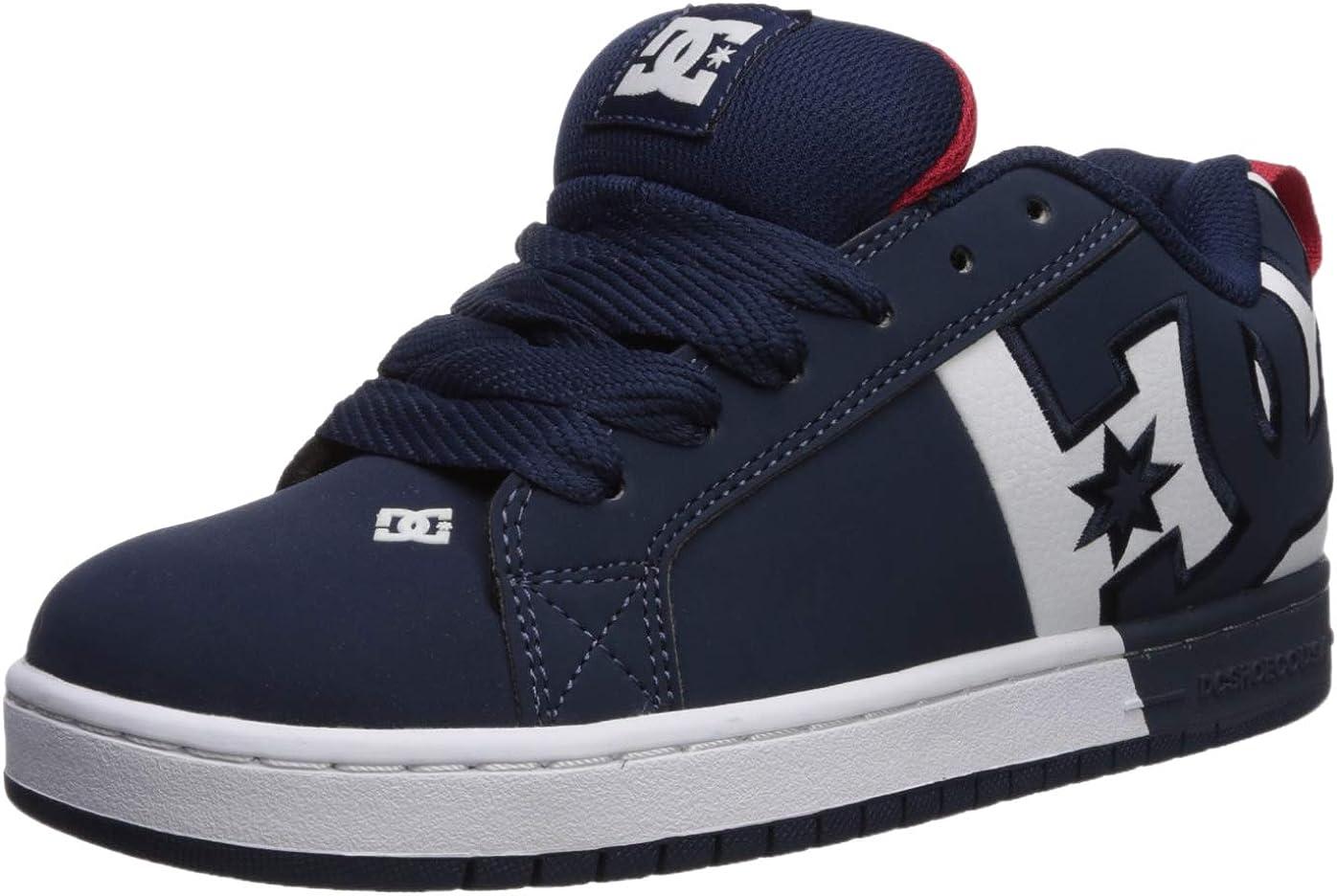 Marineblau   Rot 51 EU DC - Herren Court Graffik SQ Schuhe