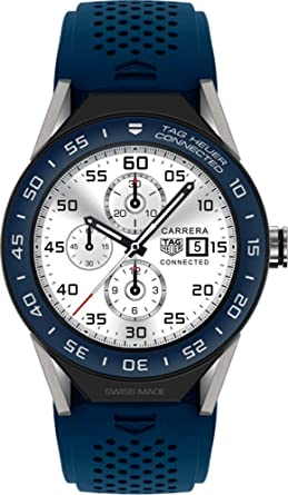 50dc4308529 Amazon.com  TAG Heuer Connected Modular 45 Men s Watch SBF8A8012 ...