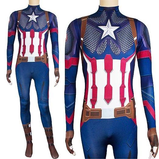 werty Cosplay Ropa Traje De Cosplay De Capitán América ...