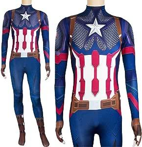 Lydias Anime Cosplay Ropa Traje De Cosplay De Capitán América ...
