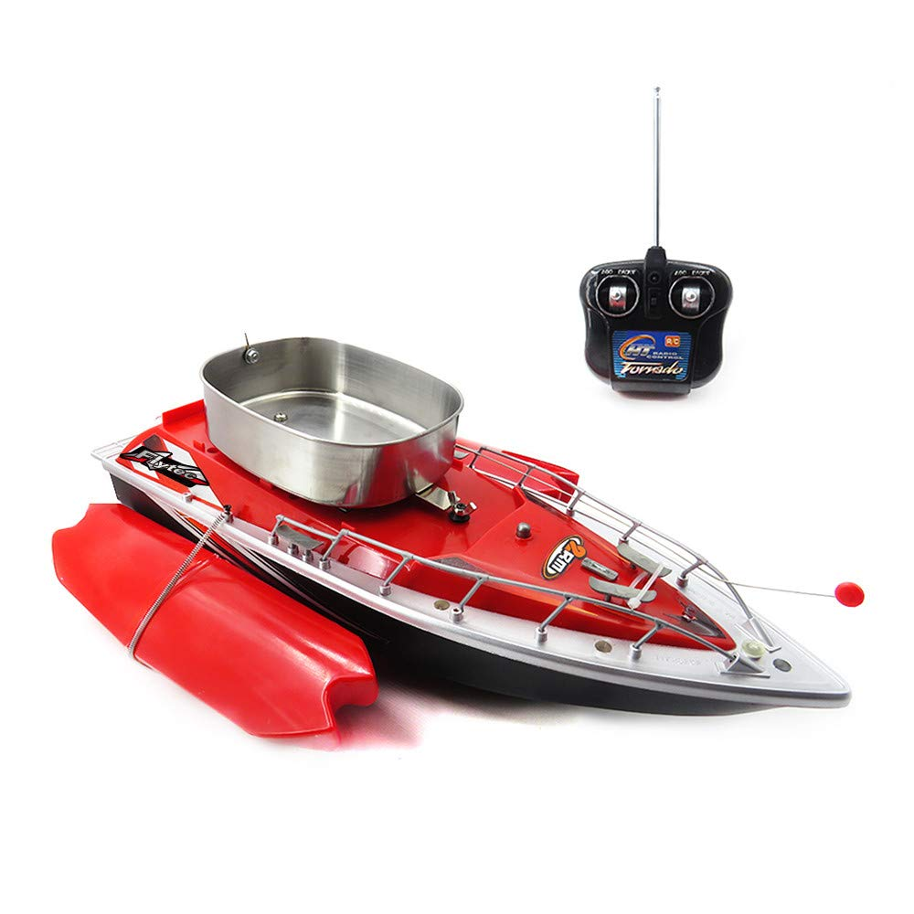 Rd Flytec 20113 Intelligent Wireless Electric RC Fishing Bait Boat 300M Remote Control Fish Finder Ship Searchlight Watercraft BU,GN,RD