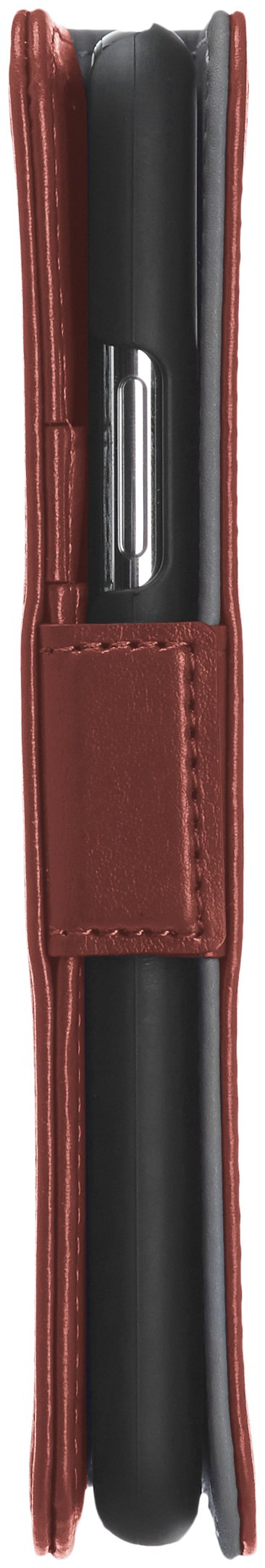 AmazonBasics iPhone X PU Leather Wallet Detachable Case, Dark Brown by AmazonBasics (Image #8)