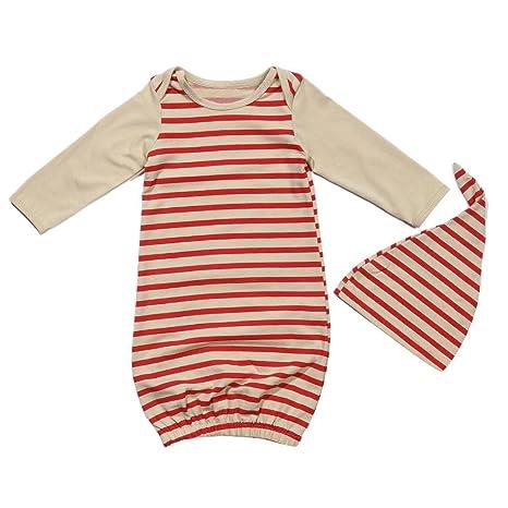 Silveroneuk - 2 sacos de dormir para recién nacido, de manga larga, de algodón