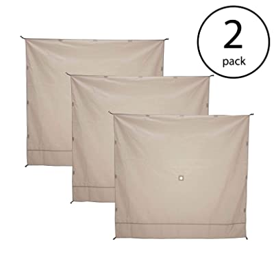 Gazelle Wind Panel Accessory for Portable Canopy Gazebo Screen Tents (6 Pack): Sports & Outdoors