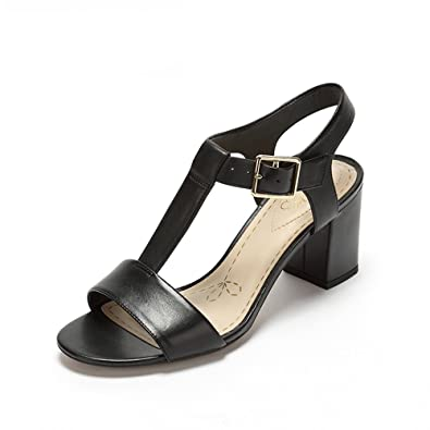 Clarks Womens Smart Deva Black Leather 9 UK