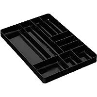 Ernst fabricación 5010-red 27,9cm por 40,6cm organizador bandeja, 10-compartments, 5011-Black