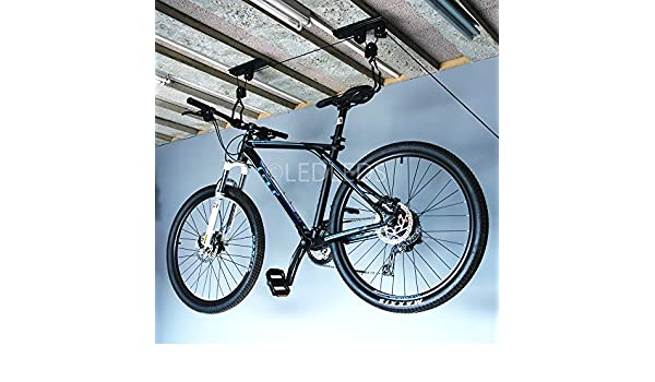Soporte colgador bicicleta MTB Soporte Bicicleta techo Garaje ...