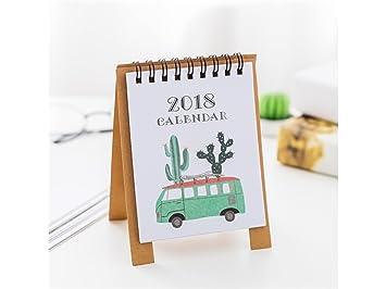 Fournitures scolaires calendrier mensuel de bureau de dessin animé