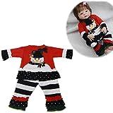 Newborn Doll 2018 nuevo 22-23 pulgadas renacimiento muñeca ropa algodón rojo muñeco de…
