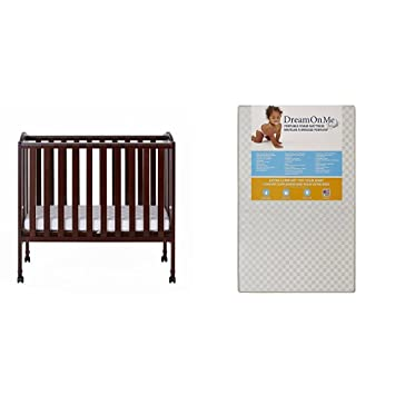Exceptionnel Dream On Me 2 In 1 Portable Folding Stationary Side Crib With Dream On Me 3