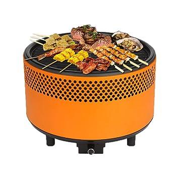 Portátil sin humo de carbón horno eléctrico barbacoa Patio parrilla al aire libre barbacoa nos –