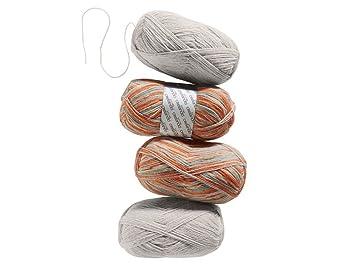 crelando Calcetines Tejer Hilo Punto Lana Anika - Distintos Colores: Amazon.es: Juguetes y juegos