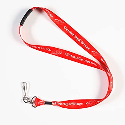 Amazon.com: Detroit Red Wings Breakaway cordón con llavero ...