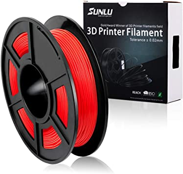 SUNLU 1.75mm Flexible TPU 3D Printing Filament, Dimensional ...