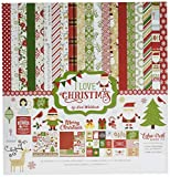 #10: Echo Park Paper Company ILC114016 I Love Christmas Collection Kit